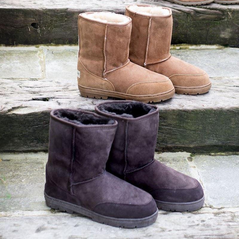 d495d4df561 Short Outdoor Classic Sheepskin Boots - Sheepskin.co.uk